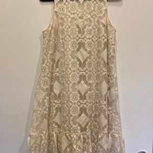 BNWT EXQUISITE LACE FLOREAT SLEEVELESS DRESS
